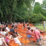 Nantes Jardin des Plantes 19 juillet 2015 avec les conteurs de Parole de Marmite