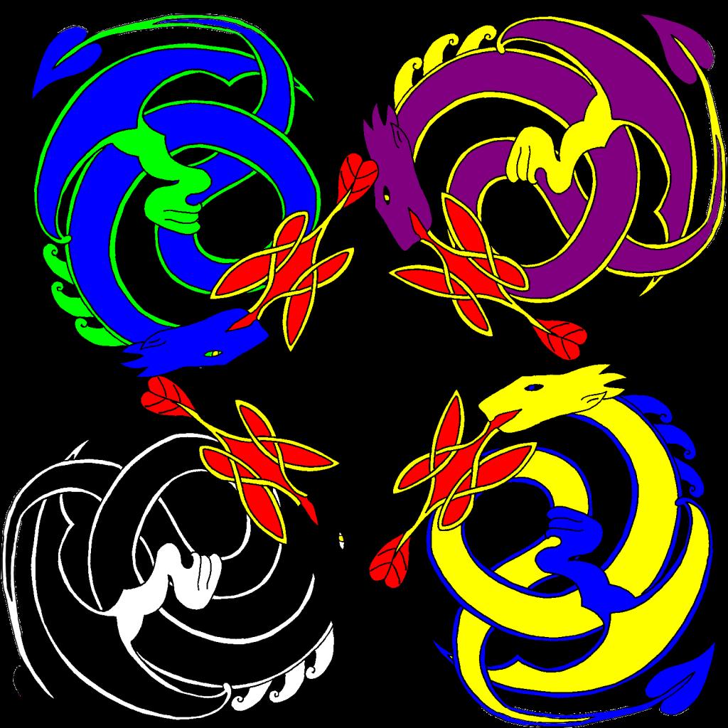 Quatre dragons